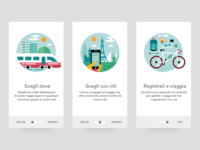 Travel Onboarding icon pack illustration icons travel onboarding