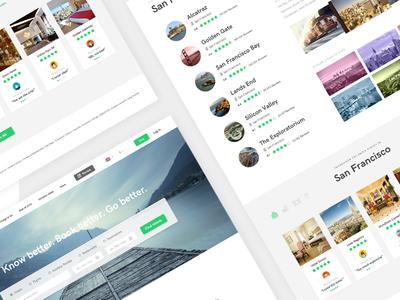 Tripadvisor Redesign creative mints redesign minimal white ux ui