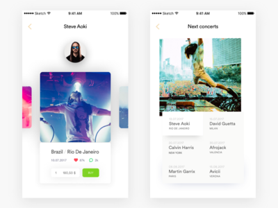 Tickets Mobile App design ios tickets ui ux mobile app app
