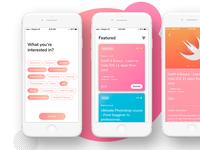 Courses app | Concept