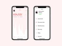 Crypto Wallet | Concept for UXPin