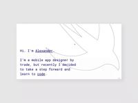 Swift website | Personal project