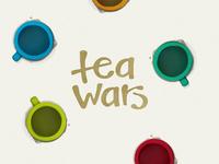 Tea Wars Logotype