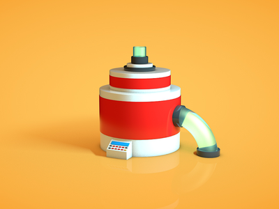 Toy 2 photoshop cinema4d modeling 3d toy