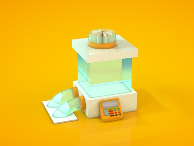 Toy6 toy photoshop modeling learning cinema4d 3d