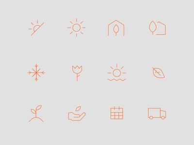 Gardenuity Icon Set