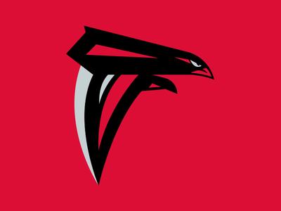 Atlanta Falcons Logo Concept By Jesse Diebolt Dribbble