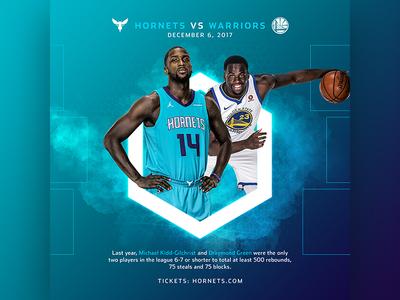 Hornets v Warriors