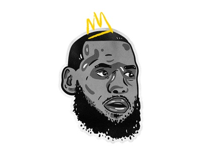 The King cavs cleveland nba lebron james lebron king