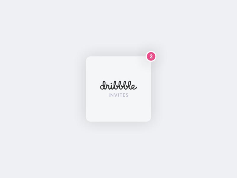 🎟 Two Dribbble Invites invitation invite dribbble invite