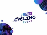 josh Cycling event logo
