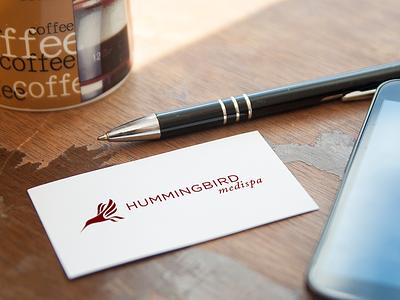 Hummingbird MediSpa Logo Concept logo