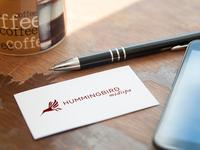 Hummingbird MediSpa Logo Concept