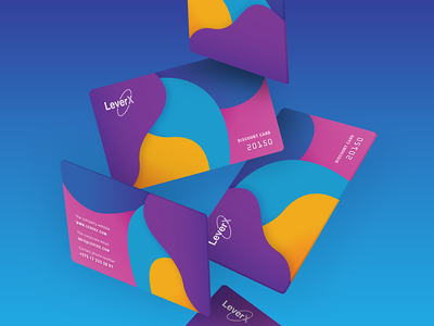 LexerX Discount card card colors discountcard discount leverx