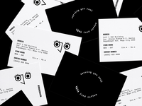 Ojo Cafe Branding - Business Cards