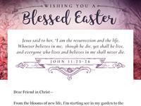 Easter Email Header