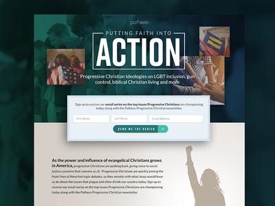 Progressive Christian Email Offer