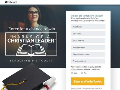 Christian EDU Landing Page