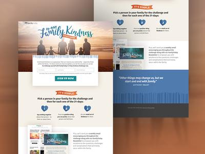 Kindness Challenge Landing Page