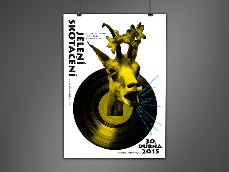 Jelen 1 illustration festival poster festival concert typography poster design poster