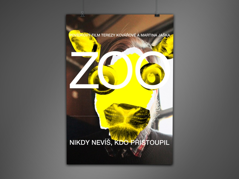 Zoo collage movie poster movie illustration typography poster design poster