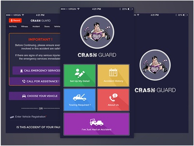 Crash Guard Accidental protection App