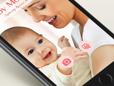 Baby Moments App for iOS and Android
