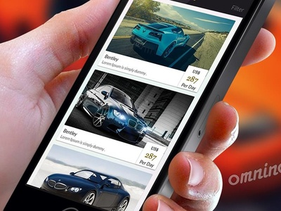 Car Rental App for iOS and Android