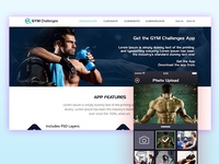 Gym/Fitness Challenging website