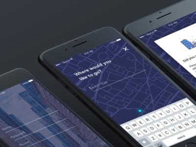 Safier map dark ui safety ios mobile