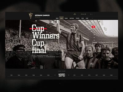 Club history - Górnik Zabrze zabrze soccer football web www