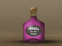 A Bottle Of Thanks