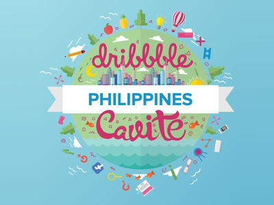 Dribbble PH Cavite Logo