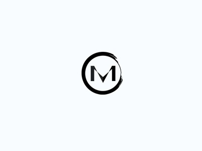 V and M logomark