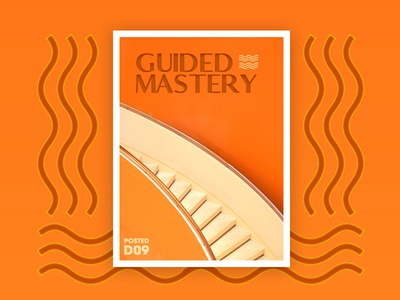 Guided Mastery Poster Design logo identity brand guided design poster creative philippines designer ux ui