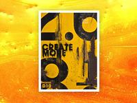 Create More Poster Design