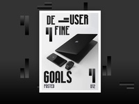Define User Goals Poster Design