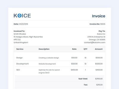 Invoice Html Template responsive html template bootstrap template html invoicing invoices invoice design invoice template invoice design template