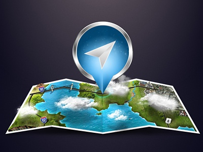 Map map icon gps