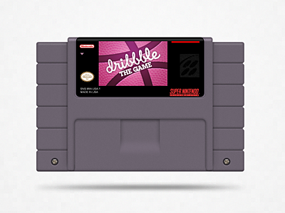 The Game dribbble game snes