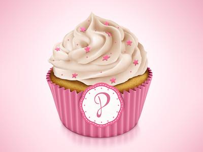 Cupcake cupcake icon cake cup illustration