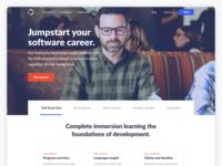 Marketing Website - Coding Bootcamp