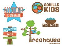 SoHills Kids Logos
