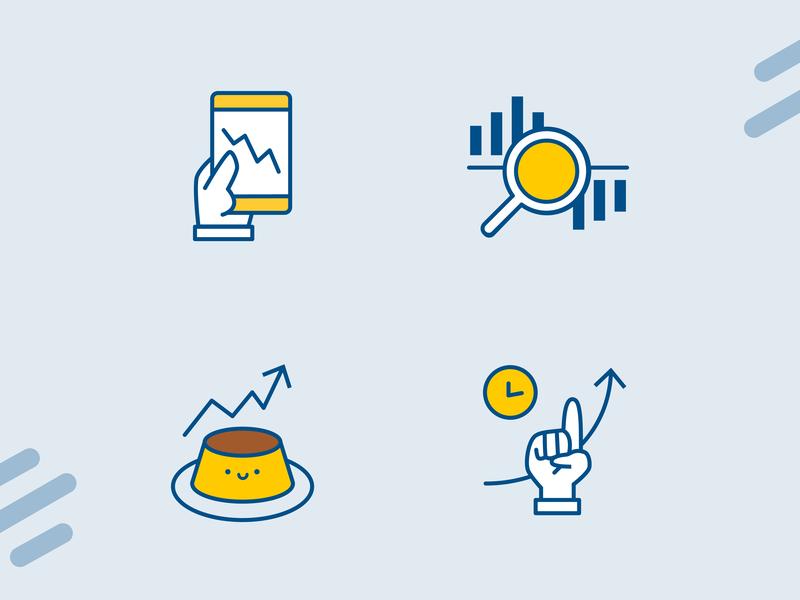 Stock Icon vector graphic design stock market market icons illstration stock icon