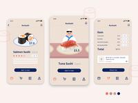 RunSushi Order App