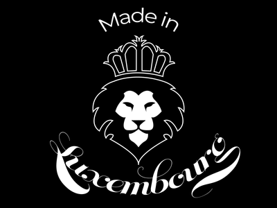 Made in Luxembourg illustrator branding logo vectors