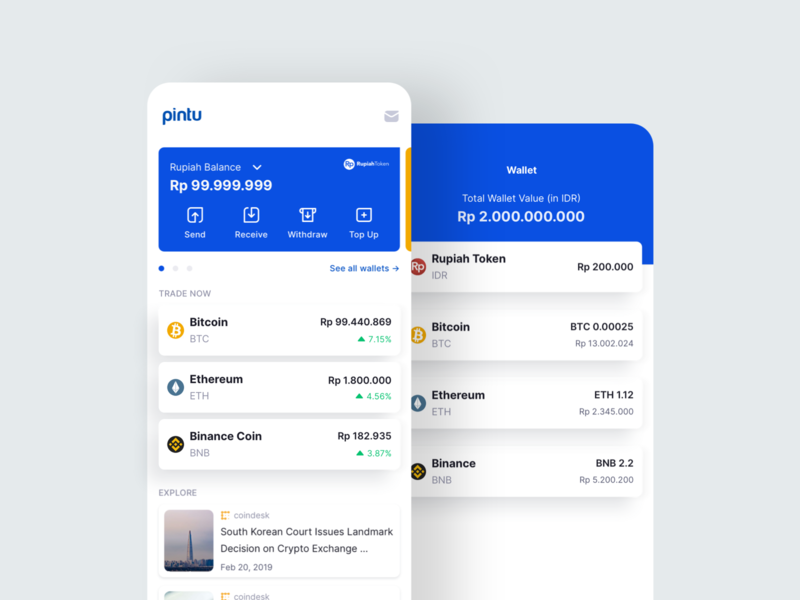 Pintu - Cryptocurrency App