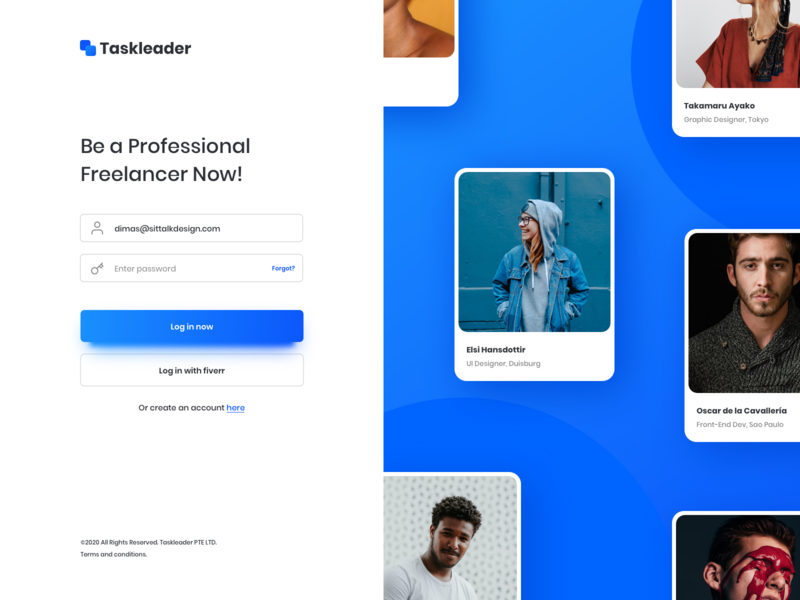 Taskleader - Freelancer Marketplace