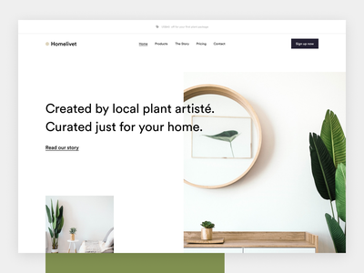 Shopify theme for plant store company website design shopify plant