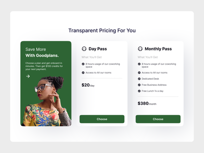 Pricing Tables UI Component (Free Download) gradient ui template webdesign pricing plan pricing tables pricing plans pricing page pricing